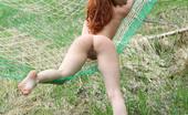AV Erotica Kesy Amazing Redhead Kesy Gives Stunning Solo In Outdoor AV Erotica