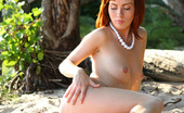 AV Erotica Renata Redhead Renata Is Truly Superb In Her Outdoor Show AV Erotica