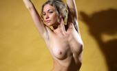 AV Erotica Ginny Amazing Blonde Ginny Opens Cunt Wide For The Camera In Her Cute Blue Slip AV Erotica
