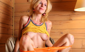 AV Erotica Yara Yara Amusingly Pulls Her Bright Orange Undies To The Side For Cunt Shot AV Erotica