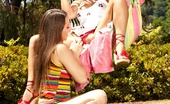 Dani Daniels VIP Dani And Friend In Hammock Summer Fun With Two Hot Girls And No Panties...Watch As Dani Daniels Licks And Fingers Her Sexy Friend Cherie Deville Dani Daniels VIP