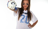 Dani Daniels VIP Dani Shows Off Her Sexy Football Uniform Dani Daniels VIP