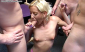 Cum Filled Throat Blonde Teenybopper Fills Her Throat With 3 Dicks Cum Filled Throat