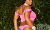 Dark Thrills Jada Fire Takes Off Her Tight Clothes And Shows Her Sexy Black Body Dark Thrills