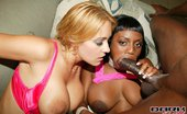 Dark Thrills Trina Michaels And Jada Fire Share One Huge Black Dick And Fuck It Good Dark Thrills