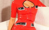 Strictly Glamour Lola ALola A Red Latex Strictly Glamour