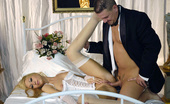 Stocking Stars Janet Gets Fucked In Her Wedding Dress And Nylons Stocking Stars