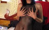 Bangkok Street Whores 479539 Low Priced Thai Hooker In Full Fishnet Body Stocking Bangkok Street Whores