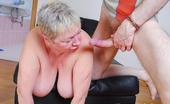 Matures Under Boys Crummy Mature Linda Was Smartening Herself By The Bathroom Mirror Totally Unaware Of The Fact That She Was Watched By A Hard-Up Boy. Soon Gary Got Bolder And Started Groping Linda'S Massive Plump Hooters And Fleshy Behind Before Taking Out His Big Hard-On