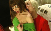 Kiss Matures Penny & Alice Chubby Mature Chick Thrusting Her Tongue Into Young Pussy At Full Force Kiss Matures