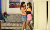 Kiss Matures Shenythia & Gertie Hot Milf Petting Herself Before Making Girlie Mouth Kiss And Strap-On Fuck Kiss Matures