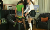 Kiss Matures Helena & Madeleine Experienced Teacher Seducing Eager Coed Into Lesbian Session On The Sofa Kiss Matures