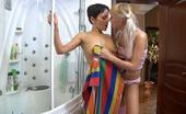 Kiss Matures Viola & Madeleine Wet Mature Chick Kisses A Young Hussy In The Bathroom Before Pussy Fisting Kiss Matures