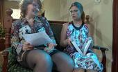 Kiss Matures Flo & Alana Pervy Mature Teacher Seduces Her Young Student Into A Lesbian Strapon Fuck Kiss Matures
