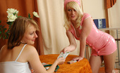 Kiss Matures Silvia & Inessa Filthy Mature Nurse Revealing Her Dirty Fantasies In Lez Games With Cutie Kiss Matures