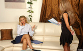 Kiss Matures Bridget & Sheila Lascivious Mature Gal Showing Cutie A World Of Lesbian Strap-On Sensations Kiss Matures