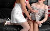 Kiss Matures Rita & Gloria Hot Nurse Slipping Under The Skirt Of Mature Babe Aching To Taste Ripe Twat Kiss Matures
