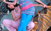 Kiss Matures Frances & Agatha Sporty Filly Ready For Some Oral Exercises With An Experienced Mature Chick Kiss Matures