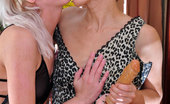 Kiss Matures Viola & Madeleine Doll-Faced Babe Whips Out A Strapon Cock Ready To Drill A Wet Mature Pussy Kiss Matures