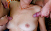 World Mature 480799 Two Cocks Are Certainly Better Than One For Her This Slut Won`T Miss This Chance As Two Guys Are Double Excitement And Double Pleasure. World Mature