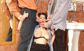 Pantyhose Parties Sweltering Babe Getting Her Sheer Tights Ripped In Wild 3some Fucking In WCMike Pantyhose Parties