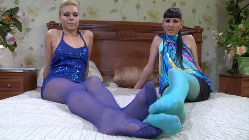 Tickle Nylon Feet Stocks
