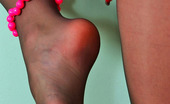 Nylon Feet Line Emmanuel Irresistibly Sexy Gal In Black Sheer-To-Waist Pantyhose Is A Real Temptress Nylon Feet Line