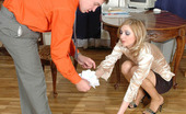Nylon Feet Line Olivia & Peter Cutie Teasing Horny Guy With Her Sexy Feet Clad In Nylon Before Muffdiving Nylon Feet Line