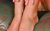 Nylon Feet Line 482062 Isolde Sexy Gal In High Heel Shoes Flashing Her Yummy Butts And Feet Clad In Nylon Nylon Feet Line