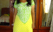 My Sexy Neha 483300 Neha Nair Neha In Green And Yellow Indian Shalwar Suit My Sexy Neha