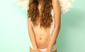 Miranda Mirelli Miranda Is A Tiny Innocent Angel, Posing In Her White Wings And Panties. Miranda Mirelli