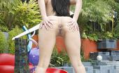 Combat Zone XXX Reena Sky Hot Latina Teen Reena Sky Gets Her Cunt Wet After Her Asshole Gets Penetrated With A Tongue. Combat Zone XXX