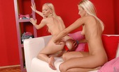 Euro Girls On Girls Denyse & Gitta Blond Sensual Blonde Lesbians Kissing And Dildo Fucking Each Other Euro Girls On Girls