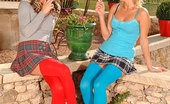 Euro Girls On Girls 484532 Gina & Laura Crystal Gina &Amp; Laura Crystal Get Horny In The Garden &Amp; Have Sex Euro Girls On Girls