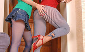 Euro Girls On Girls Ann Marie La Sante & Lana Hot Babes Ann Marie La Sante & Lana Fucking Pussy With Heels Euro Girls On Girls