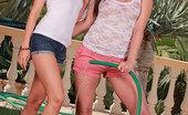 Euro Girls On Girls 484691 Megan & Sandra Shine Sexy Lesbians Megan & Sandra Shine Licking Pussy In Garden Euro Girls On Girls