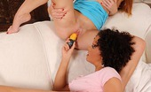 Euro Girls On Girls Denisa Heaven & Linet Linet Enjoys A Cactus Shaped Cooter Caregiver From Denisa! Euro Girls On Girls