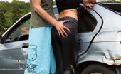 Fuck 'N Drive Katie Wants To Have Her Pussy Fucked Right In This Junk Yard And Tony Is Going To Enjoy It More Than Any Other Request From His Sexy Mate. Fuck 'N Drive