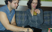 They Drunk Drunk Teen Brunette Welcomes Hardcore FuckDrunk Teen Brunette Linda Sucking Boyfriend Cock And Getting Hardcore Fuck That She Enjoys Because Of Drunkness They Drunk