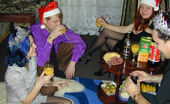 They Drunk 485099 Drunk Christmas Orgy With Brunette Teen GirlsDrunk Teen Brunettes Masha And Julia Getting Hardcore Fuck And Doing Blowjob During The Drunk Christmas Orgy They Drunk