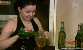 They Drunk Drunk Brunette Consumes Beer From The BottlesDrunk Brunette Talma Drinks Few Bottles Of Beer From The Glass And Then From The Bottle And Teasing Her Boyfriend Sucking A Bottle Neck They Drunk