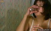 They Drunk 485129 Drunk Mature Brunette Sucks Cock And Falls AsleepDrunk Mature Brunette Gulia Gets Weird Consuming A Lot Of Vodka And Trying To Give A Blowjob To Her Boyfriend But Cannot Finish The Fuck And Falls Asleep They Drunk