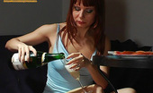 They Drunk Drunk Redhead Girl Takes Sex Photos Of HerselfDrunk Redhead Girl Ira Feels Cheerful And Taking Nasty Photos Of Herself Using Her Mobile Phone After Drinking Whole Bottle Of Champagne They Drunk
