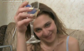 They Drunk Drunk Teen Blonde Crazy MasturbationDrunk Teen Blonde Gella Drinks Vodka From The Glass With Small Plastic Dildos And Masturbates Like Crazy They Drunk