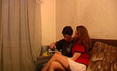 They Drunk Drunk Redhead Girl Sucking CockDrunk Redhead Girl Luiza Shows Her Stockings To Boyfriend And Insensibly Finds Herself Sucking His Cock They Drunk