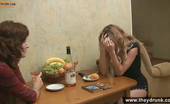 They Drunk Funny Drunk SexGirls Drink Alcohol And Go Lesbian At A Kitchen They Drunk