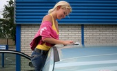 Sweet Sophie Moone Washing My Car I Hope You Like Cars - Because I Like Mine A Lot. So After Our Czech Trip I Thought It\'S High Time To Take Care Of It A Bit. So I Decided I\'Ll Clean It In The Inside And Wash It On The Outside. Do You Want To Come With Me? Sweet Sophie Mo