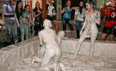 All Wam Two Very Hot Teenage Girls Enjoy Getting Dirty In A Mud Tub All Wam