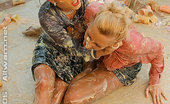 All Wam Two Hot And Sexy Babes Getting Messy As Hell In Food Fight All Wam