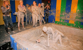 All Wam A Couple Of Sexy Horny Girls Playing In Dirty Gray Slime All Wam